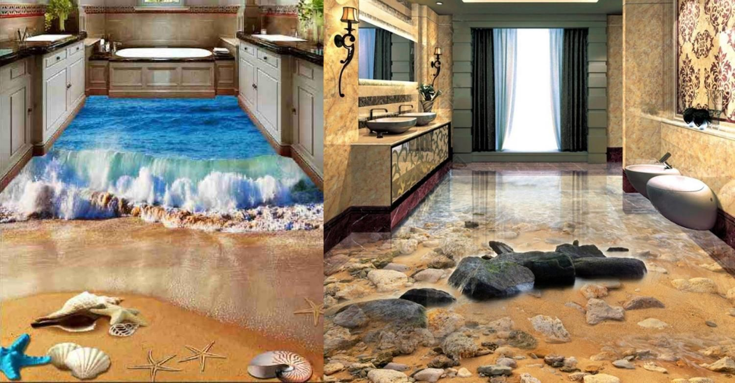 You Can Now Get 3D Epoxy Floors That Will Turn Your Room ...