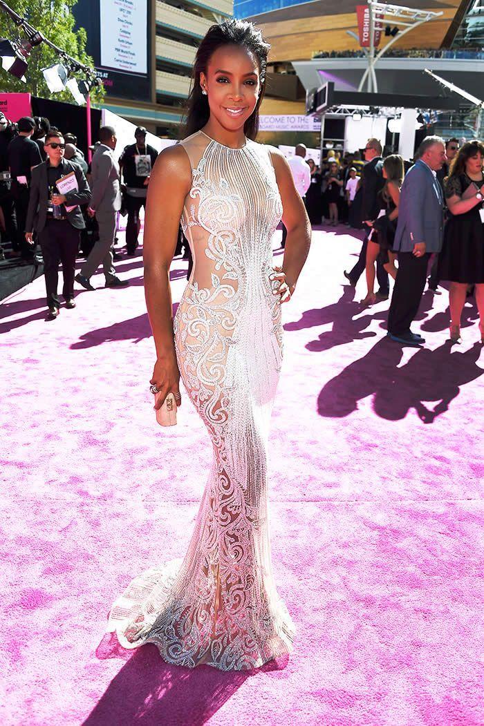 Kelly Rowland Billboard Music Awards 2016 Red Carpet Dress