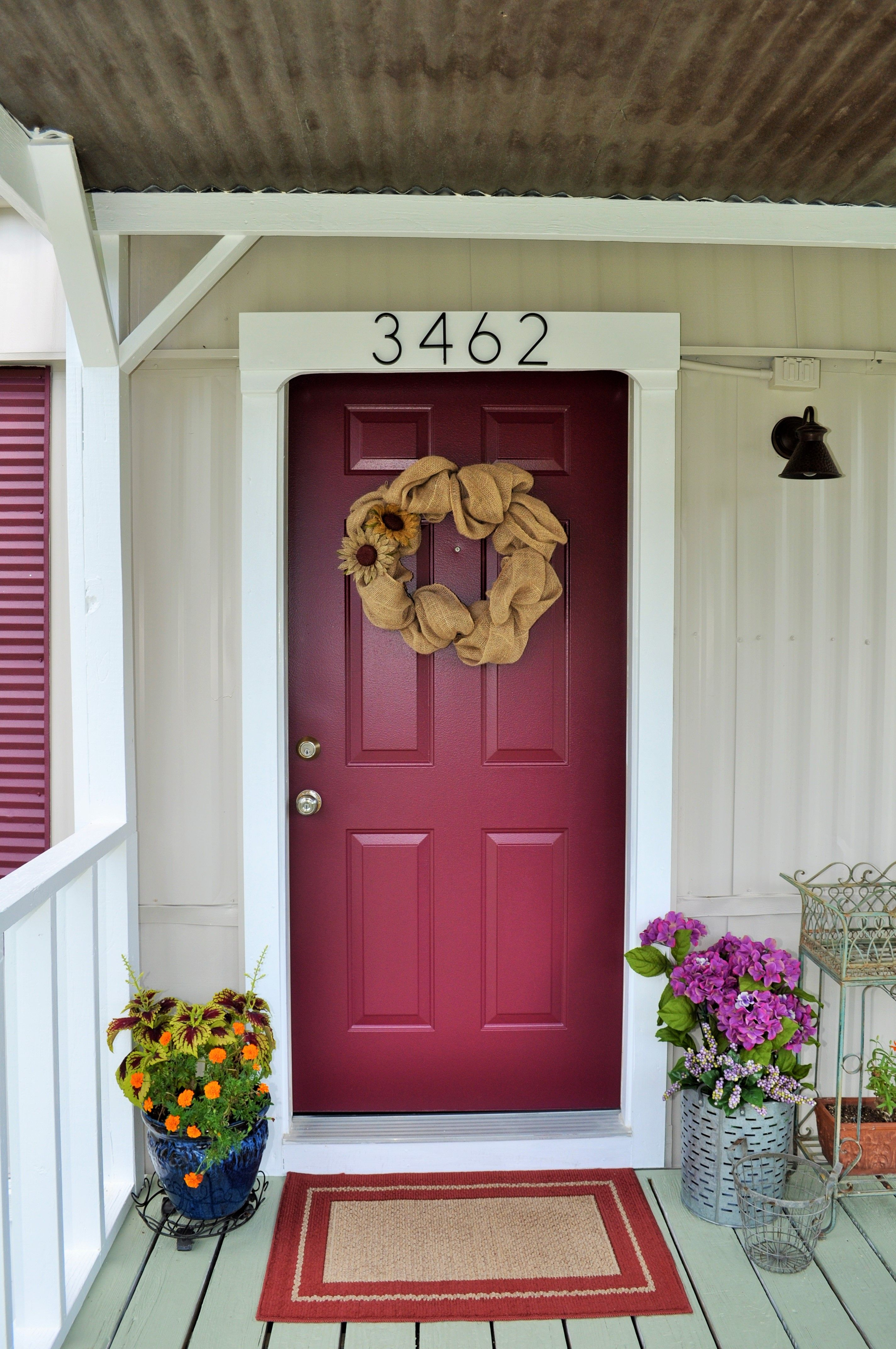 Mobile Home Front Door This Home Had A Smaller Mobile Home Door Replaced With A 36 Inch Stand Mobile Home Doors Remodeling Mobile Homes Mobile Home Makeovers
