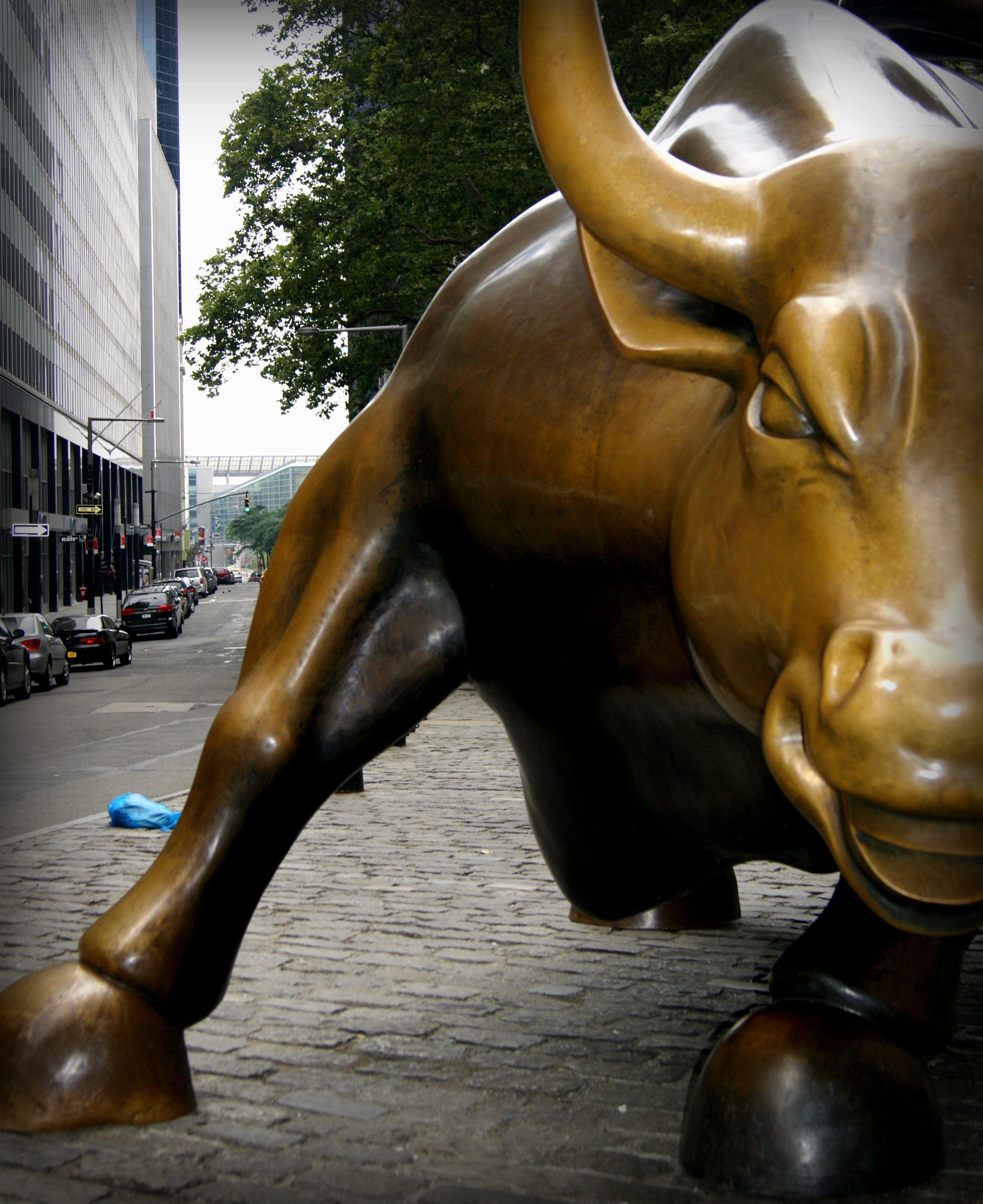The Charging Bull The Symbol Of Wall Streets Stock Market