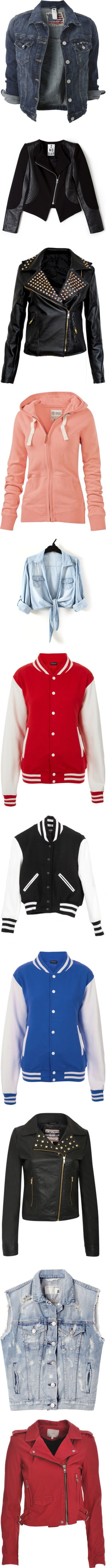 """""""Jacket & sweater - Items"""" by rominix011 ❤ liked on Polyvore"""