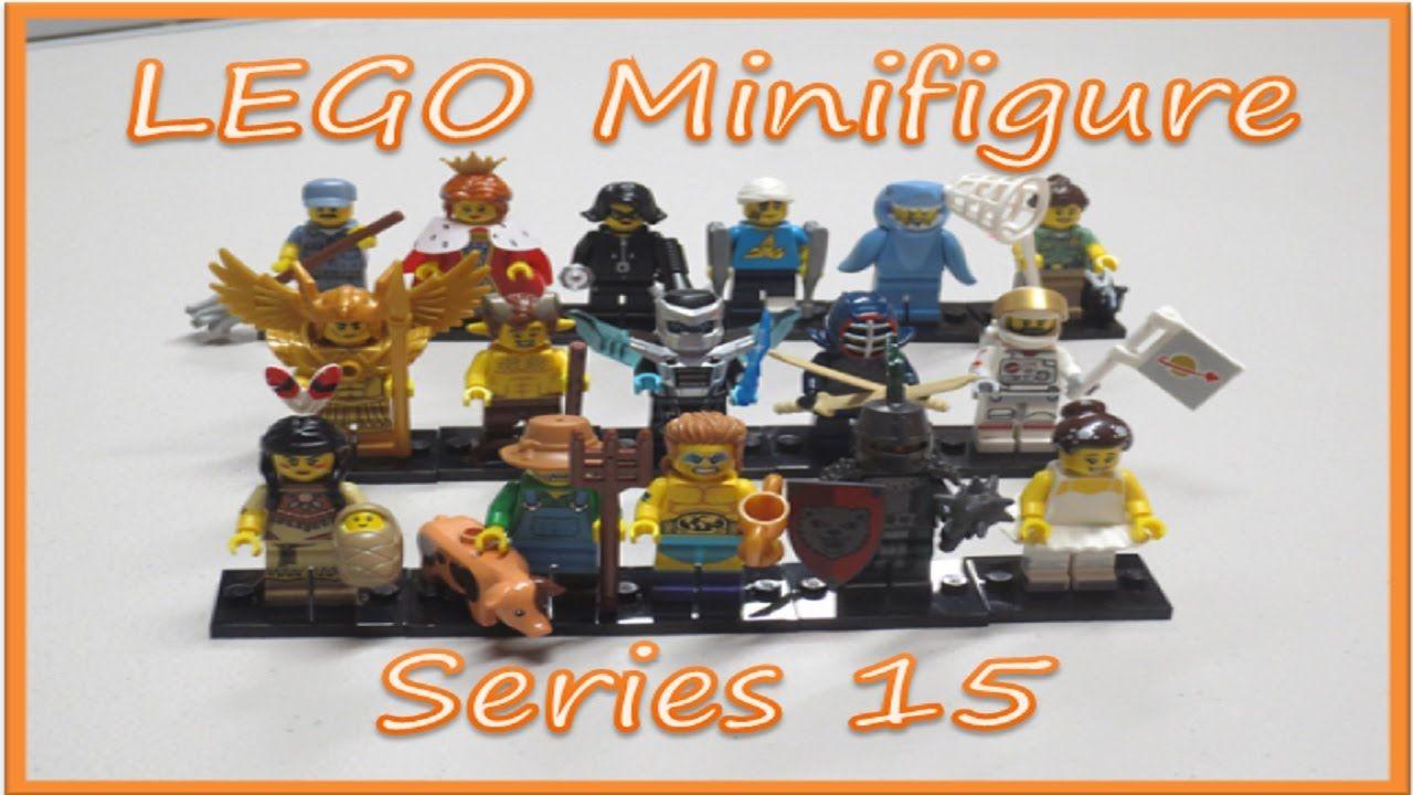 Lego minifigure series 15 complete set bump codes