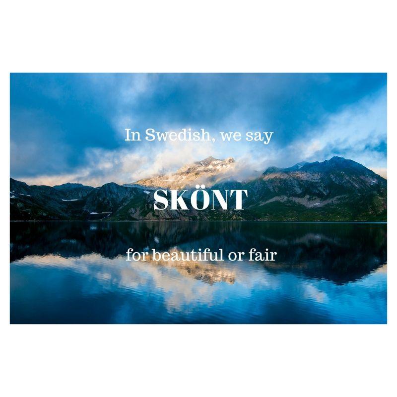 20 Beautiful Words That Will Make You Fall In Love With The Swedish Language Swedish Language Words In Other Languages Beautiful Words