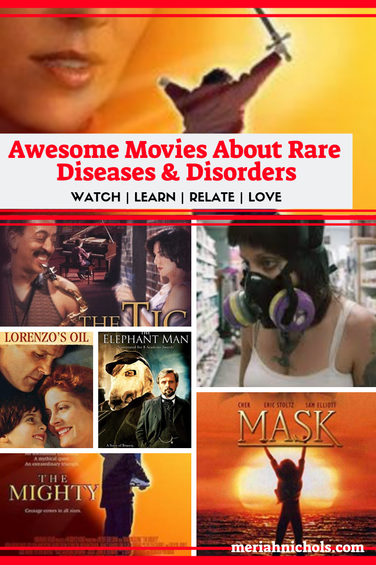 Awesome Movies About Rare Diseases And Disorders Rare Disease Disease Disorders