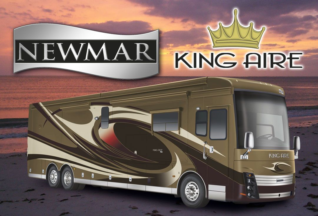 2015 Newmar King Aire Luxury diesel bus motorcoach exterior.