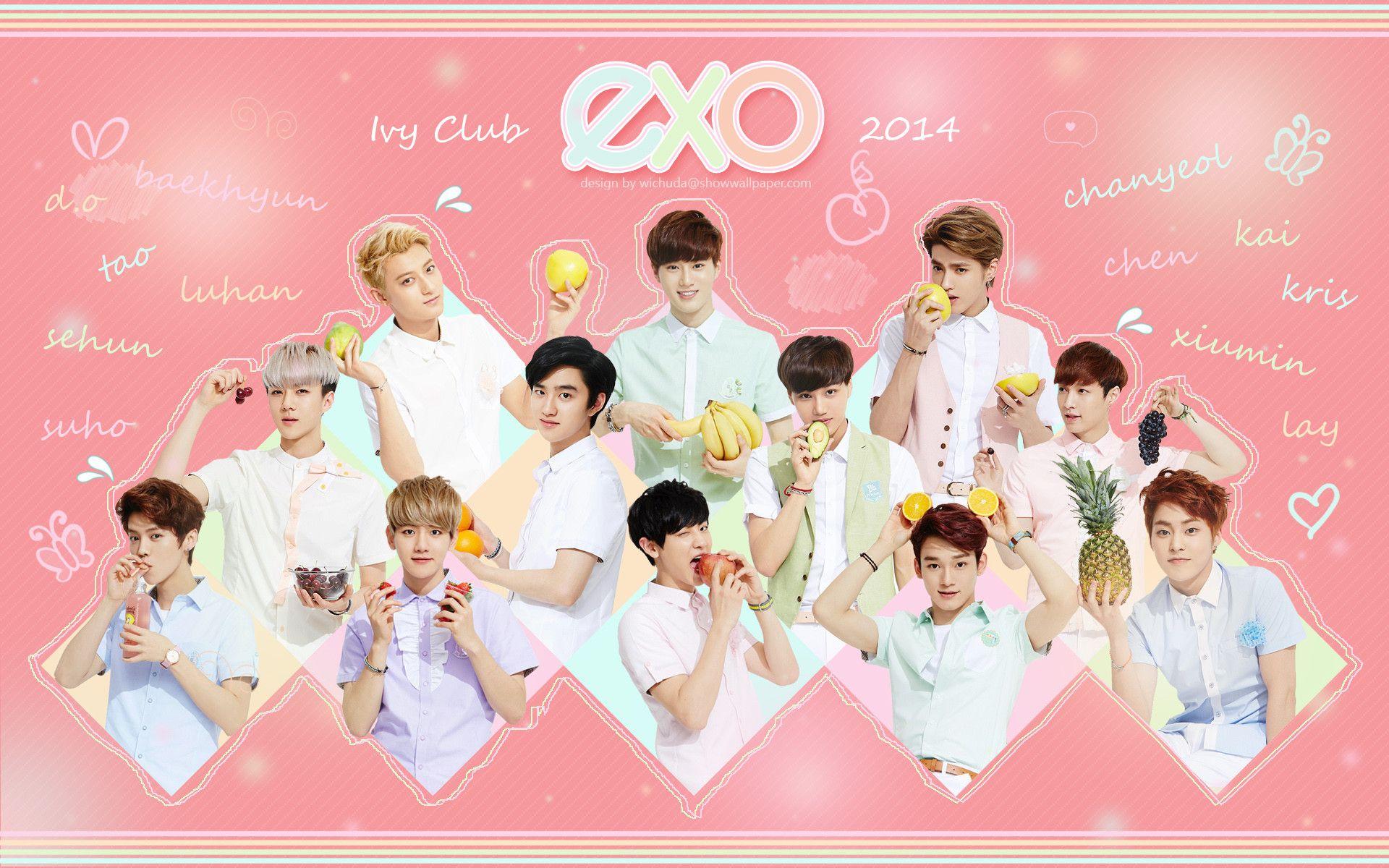 Exo Hd Wallpaper 1920x1200 Tablet Exo Wallpaper Hd Exo Korea Exo