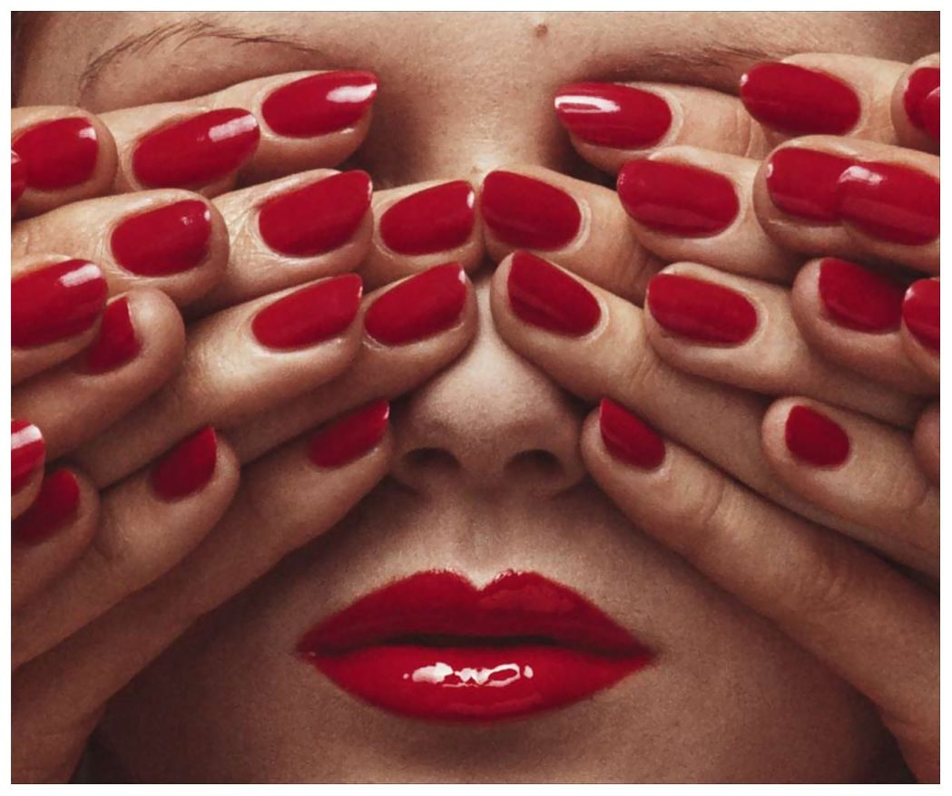 Guy Bourdin image for French Vogue (May 1970)
