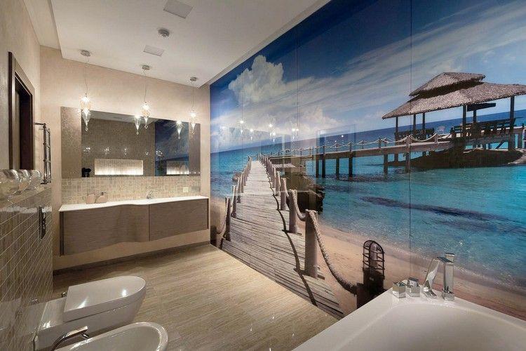 Glas Statt Fliesen Im Bad Pflegeleicht Und Dekorativ Minimalistische Bader Haus Fliesen