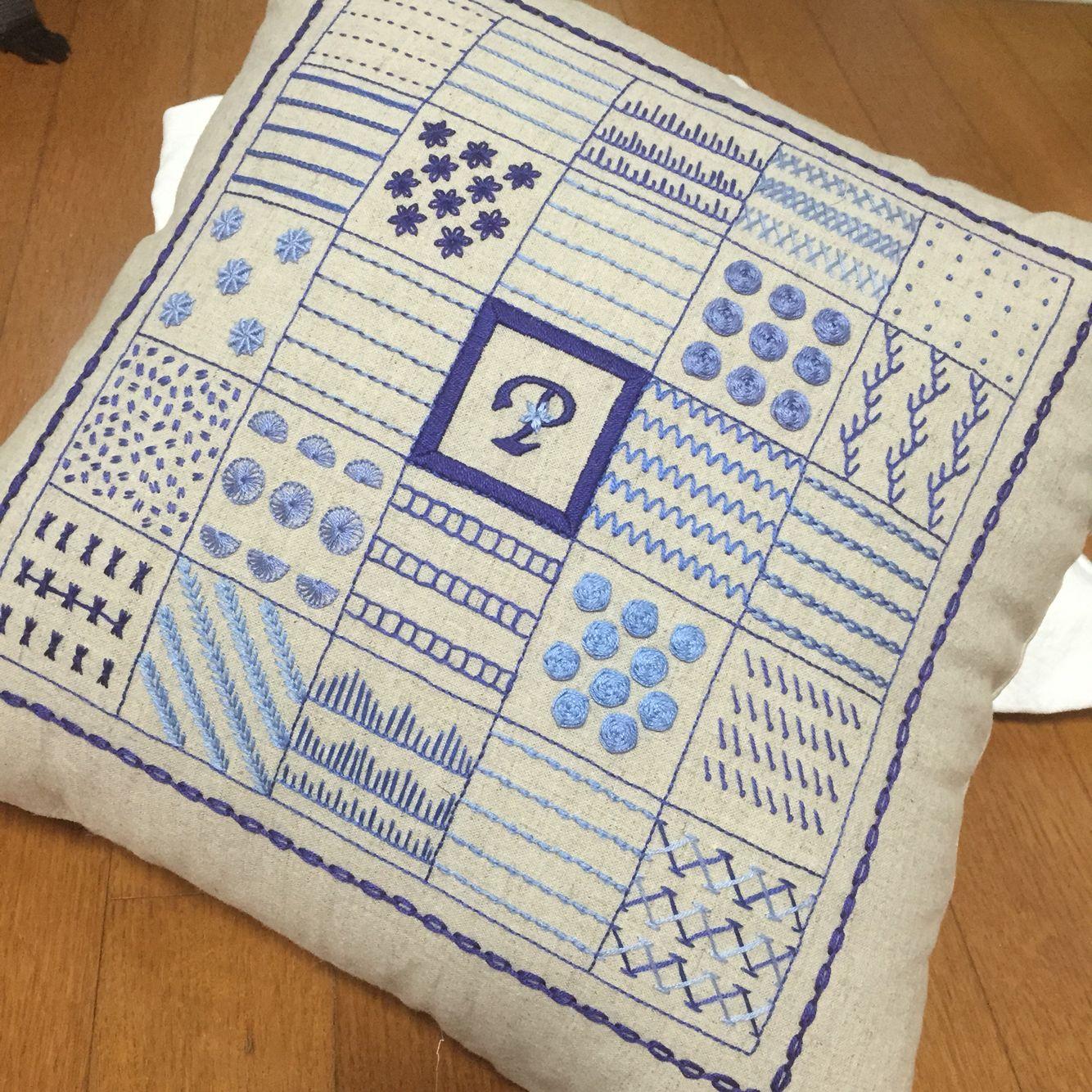 프링스 자수 Stitch collection