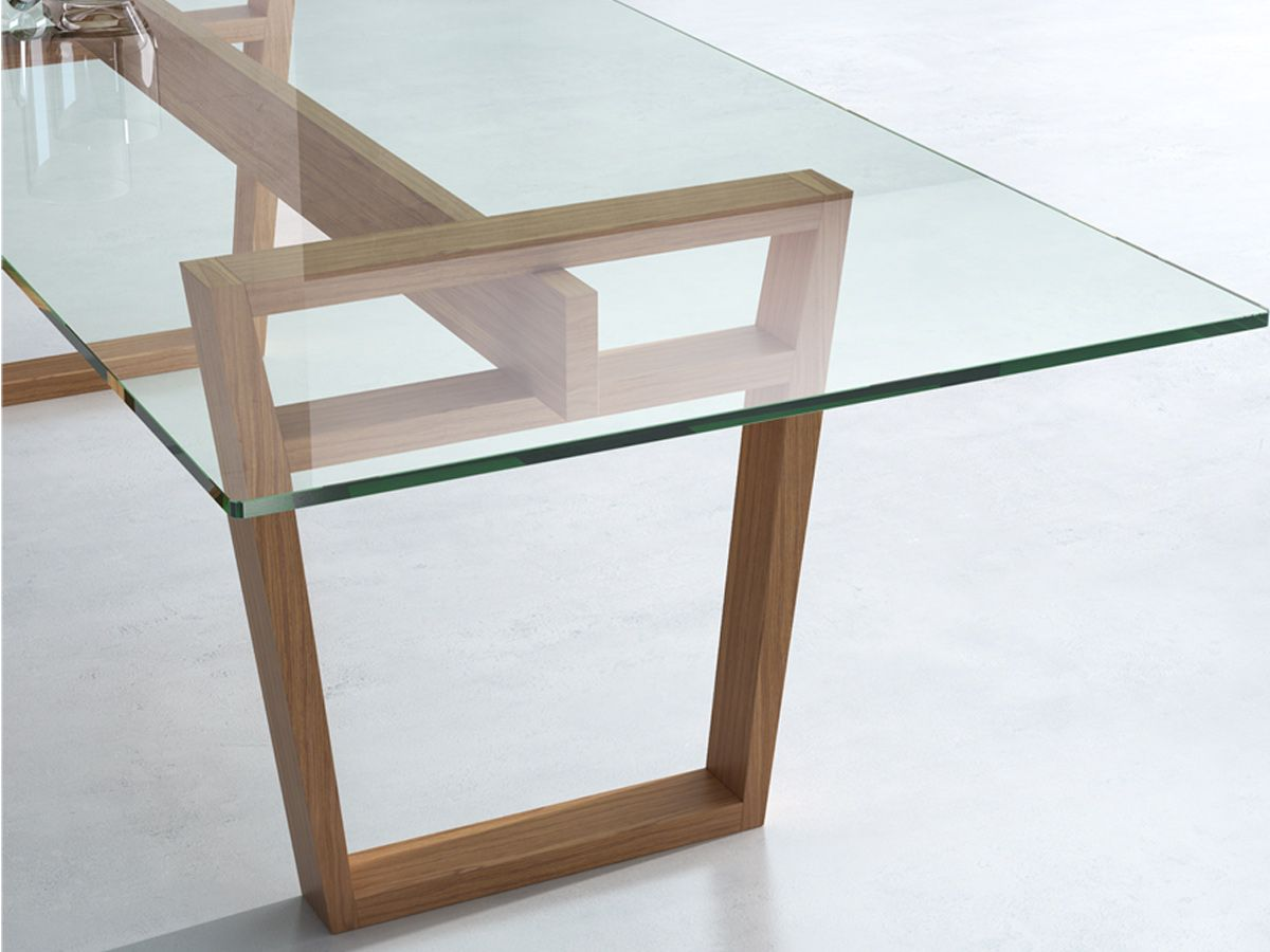 Maralba Dining Table Ajar In 2020 Glass Top Dining Table