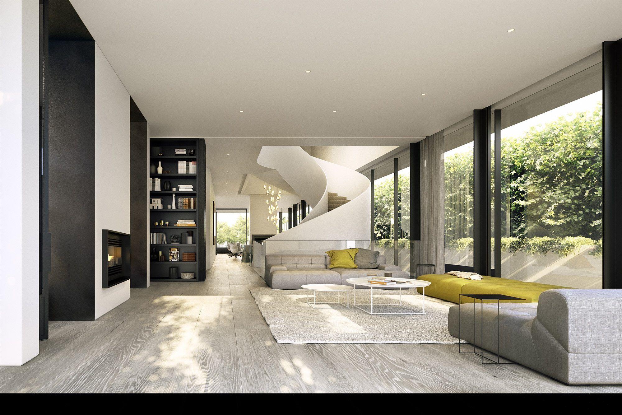 Rma Gs Woodman Study Stairs Alt Living Room Pinterest Alt  # Meuble Tv Woodman