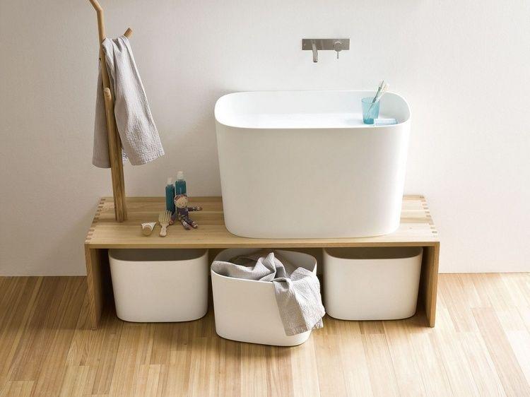 Banc salle de bain - un petit meuble avantageux et distingué   Banc ...