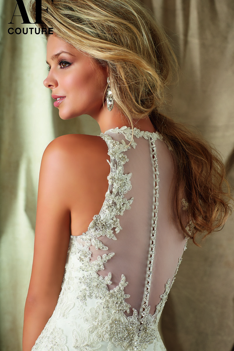 Angelina faccenda couture jewel neckline illusion decolletage