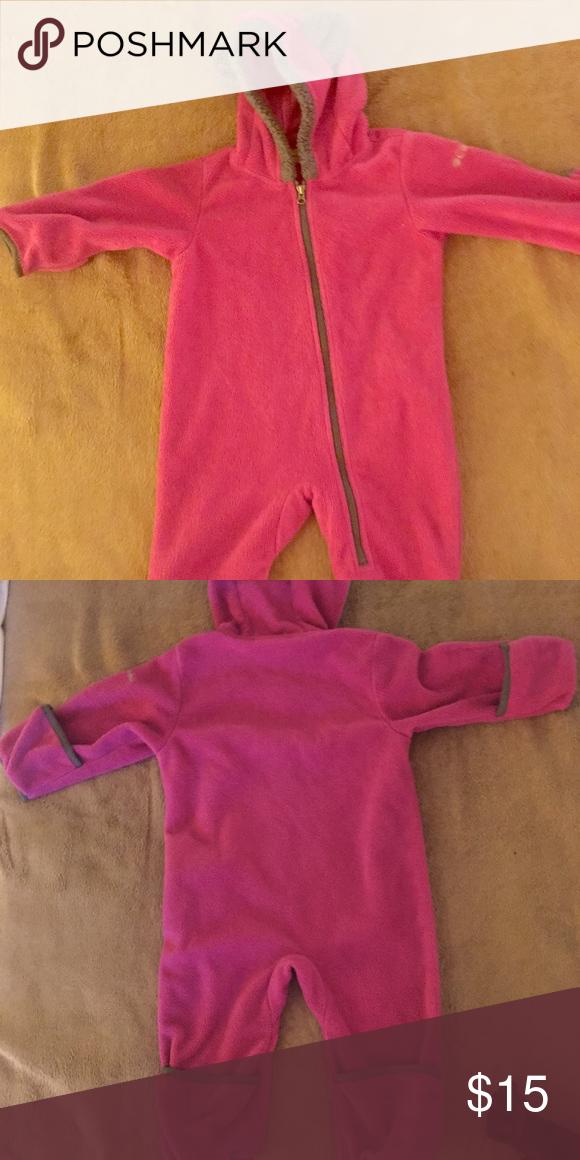 5c9be1878ac7 18 to 24 month girl Columbia fleece suit