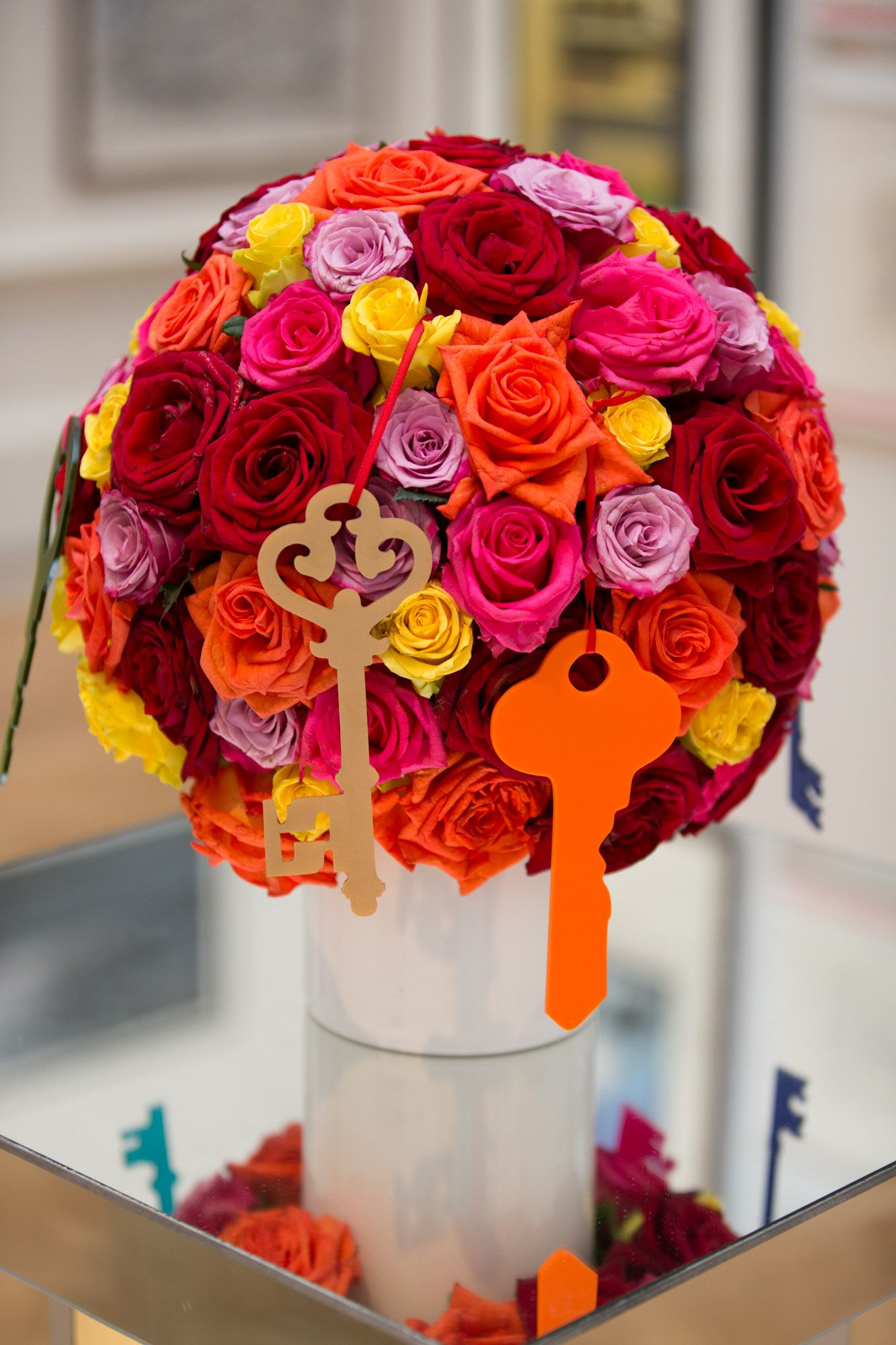 21st birthday flowers by simon j lycett flowers pinterest 21st birthday flowers for unique venues of london using roses and their key logo izmirmasajfo