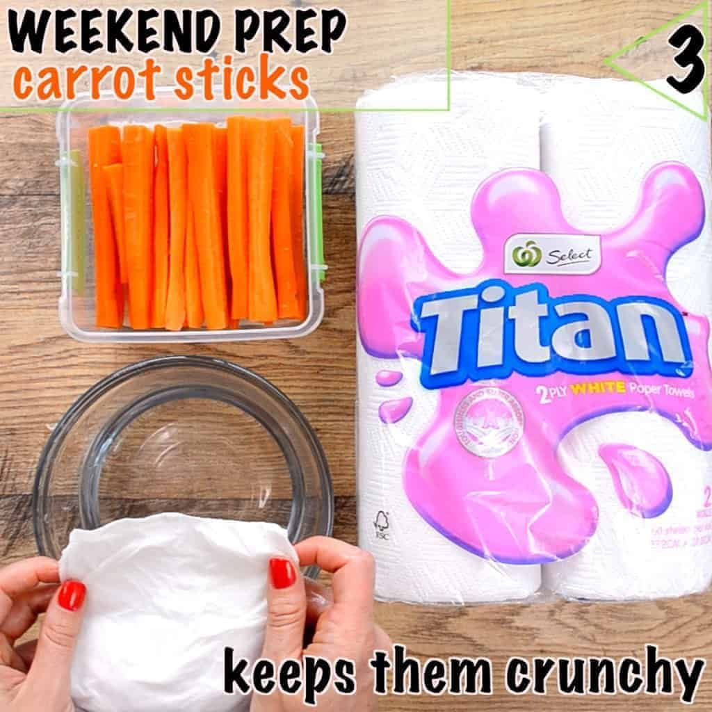 Healthy lunch box ideas start with prep keep carrot