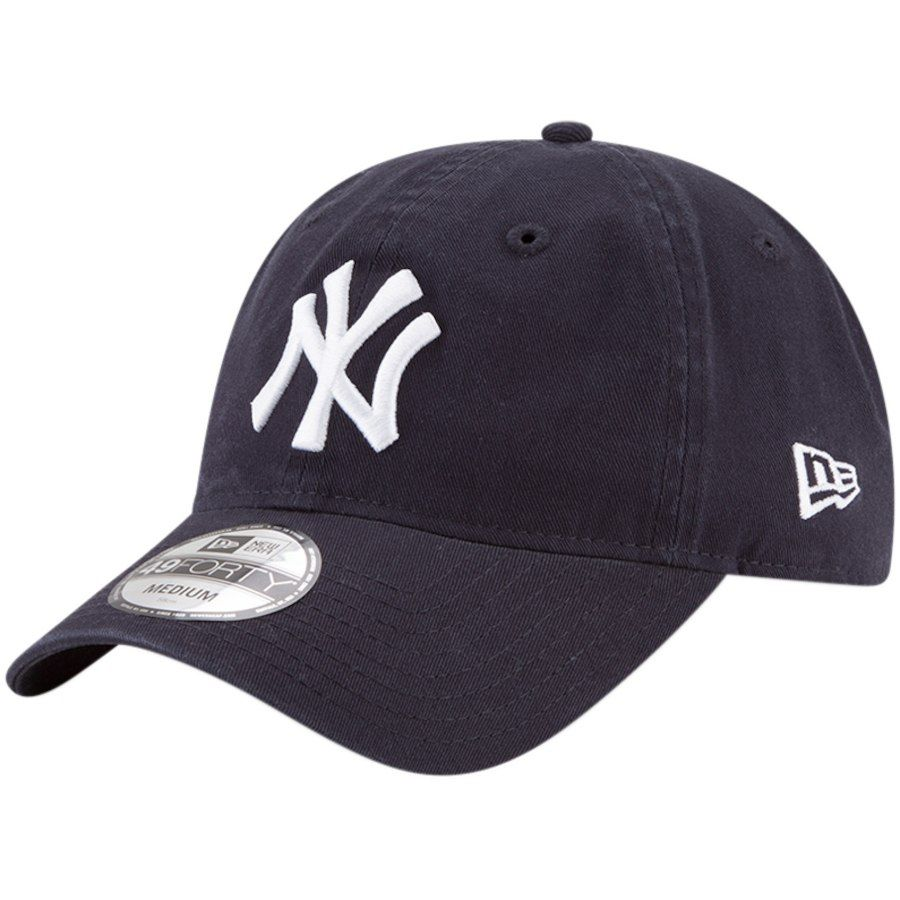 c543c9c6b68 Men s New York Yankees New Era Navy Core Fit Replica 49FORTY Fitted ...