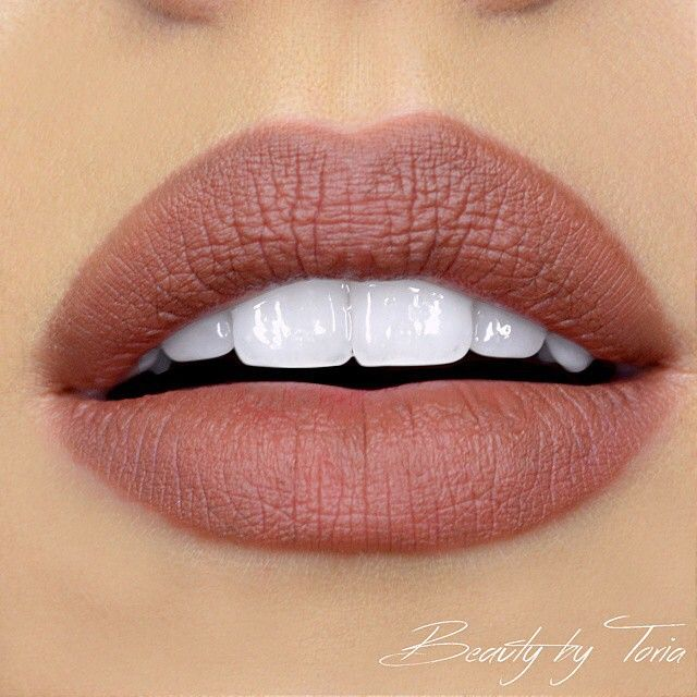 @beautybytoria with the ultimate warm nude lip, using our Slim Lip Pencil in 'Nude Truffle'!  || #nyxcosmetics #regram