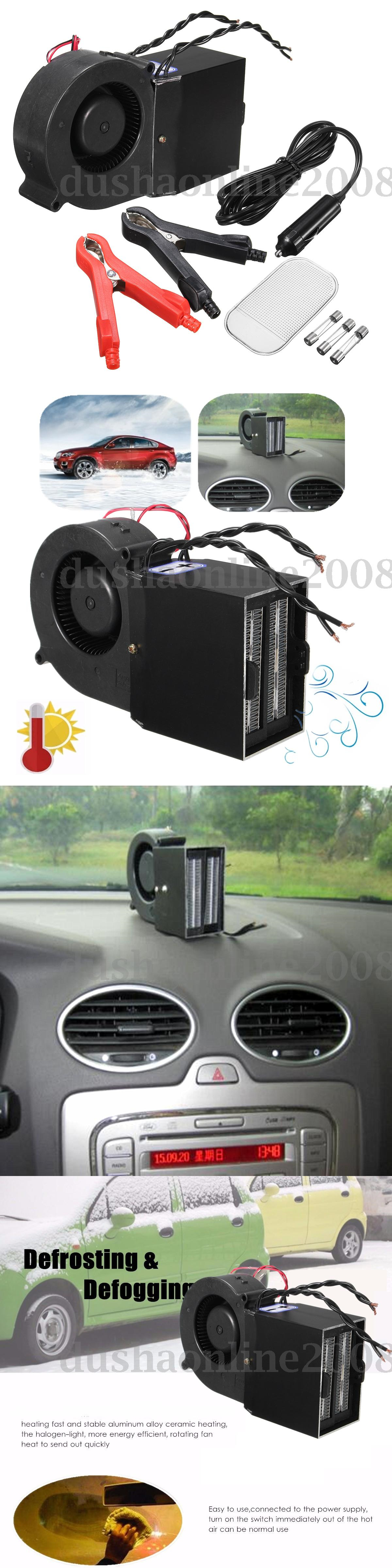 12 Volt Portable Appliances 300w 500w Adjustable Ptc Safe Car Heating Heater Hot Fan Defroster Demister 12v Buy It Now Only 30 5 Heater Fan Hot Fan Portable