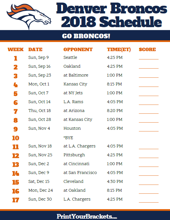 graphic relating to Denver Broncos Printable Schedule titled Pin via PMP Patterns upon Demonstrates Denver broncos agenda