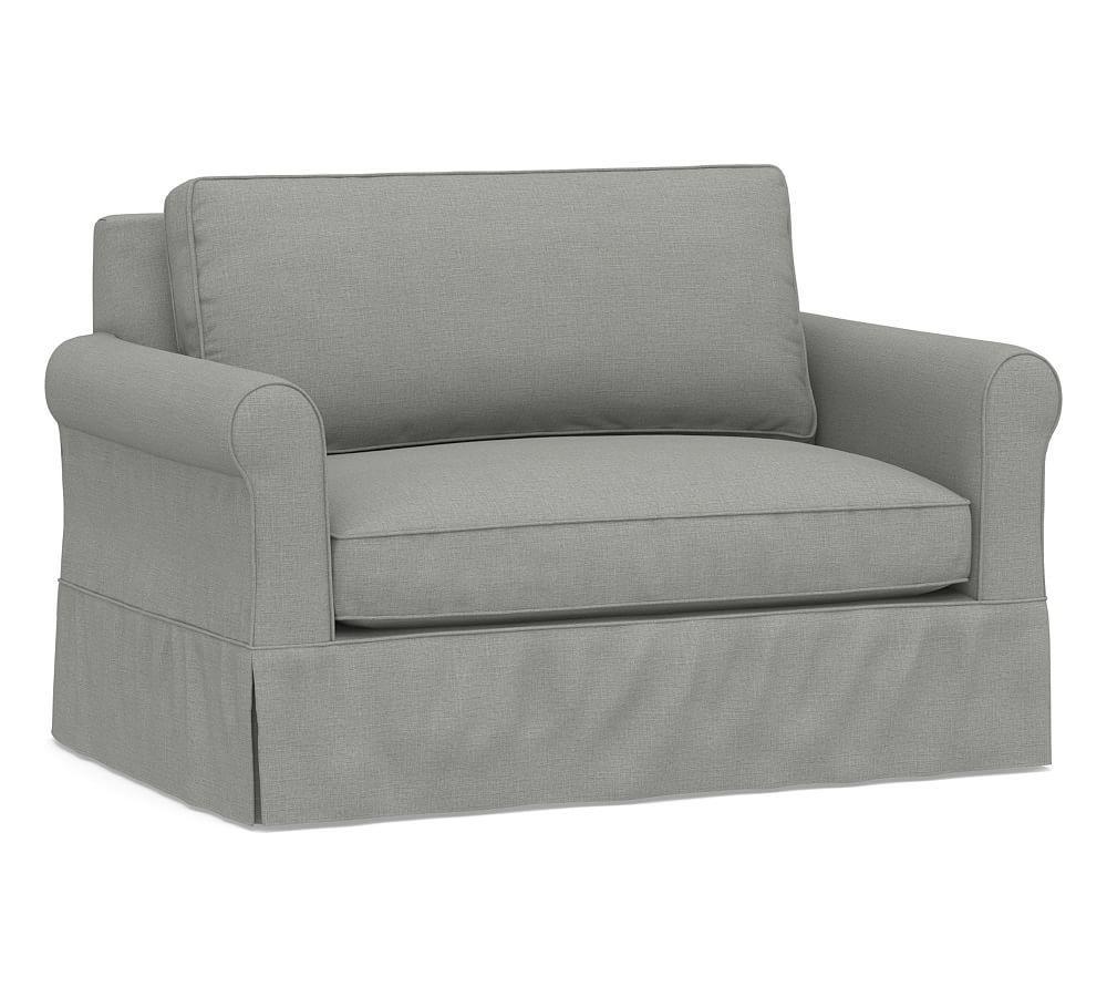 Amazing Cameron Roll Slipcovered Twin Sleeper Sofa With Memory Foam Download Free Architecture Designs Ferenbritishbridgeorg