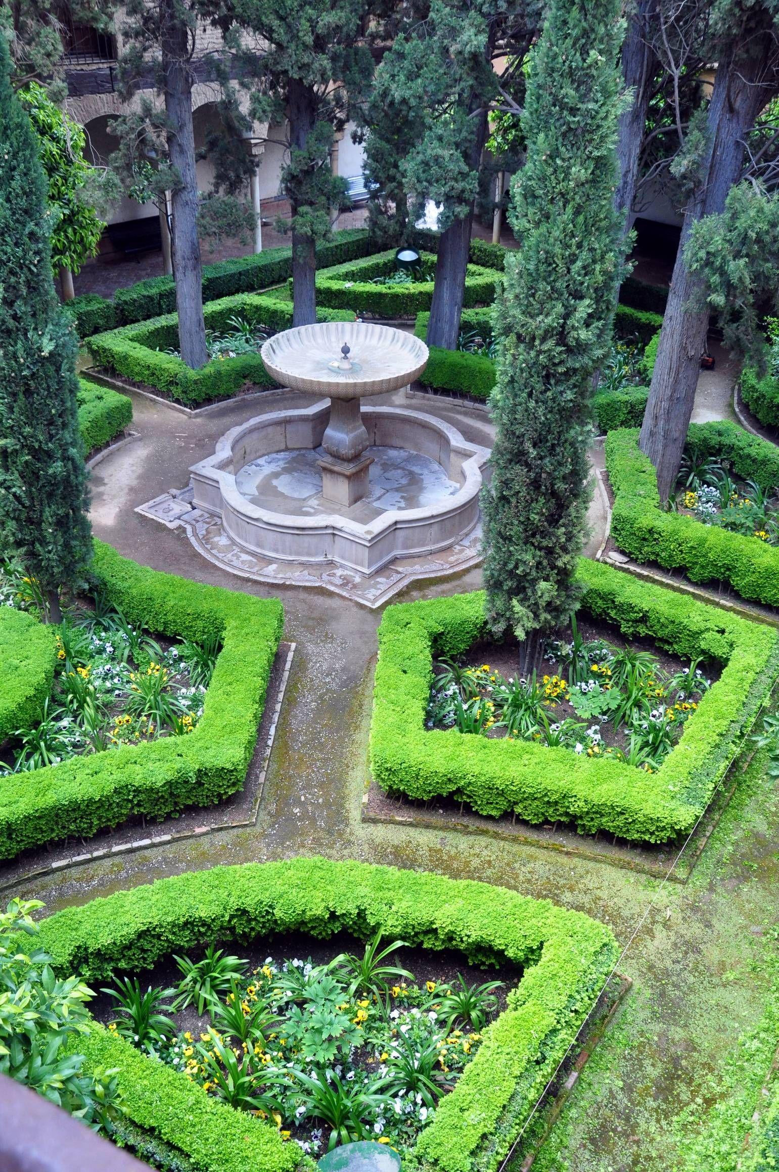 Jardin des palais nasrides de l alhambra granada tierra for Jardins decoratifs
