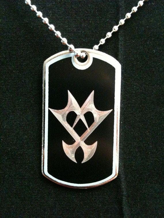 Kingdom Hearts Unversed Dog Tag Necklace on Etsy, $10.00 | ohhh Tracy would love this