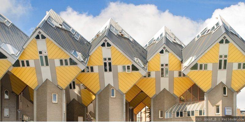 dit is een geometrisch gebouw