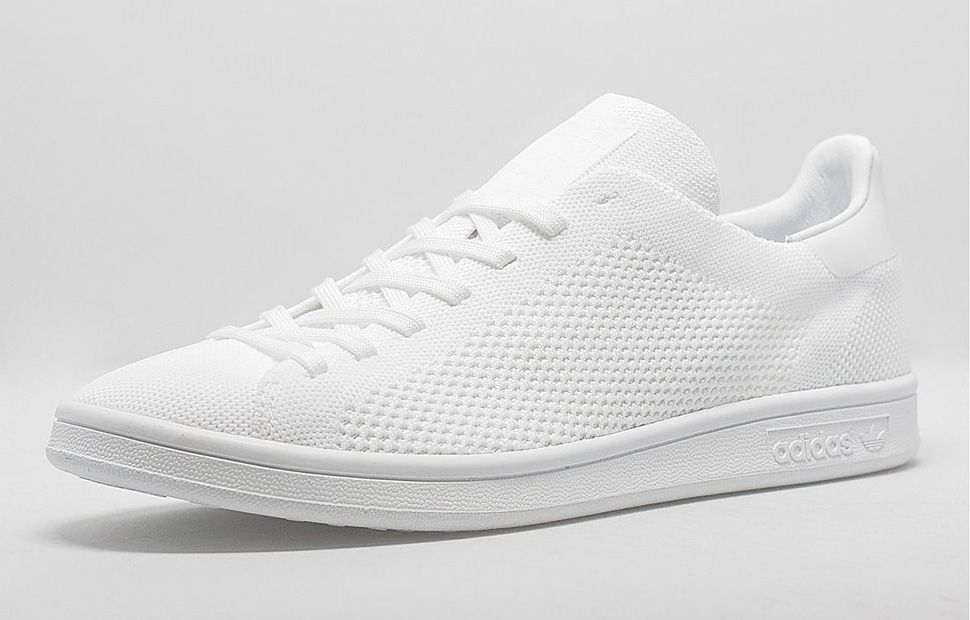 "New School version of an Old School Classic. Adidas Stan Smith Primeknit  ""Triple White"". Right now only sold in Europe 10/2015 