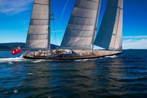 Hodgdon Yachts, cold molded luxury yachts, Scheherazade