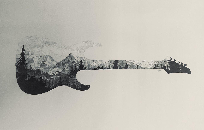 Guitare Electrique Dessin