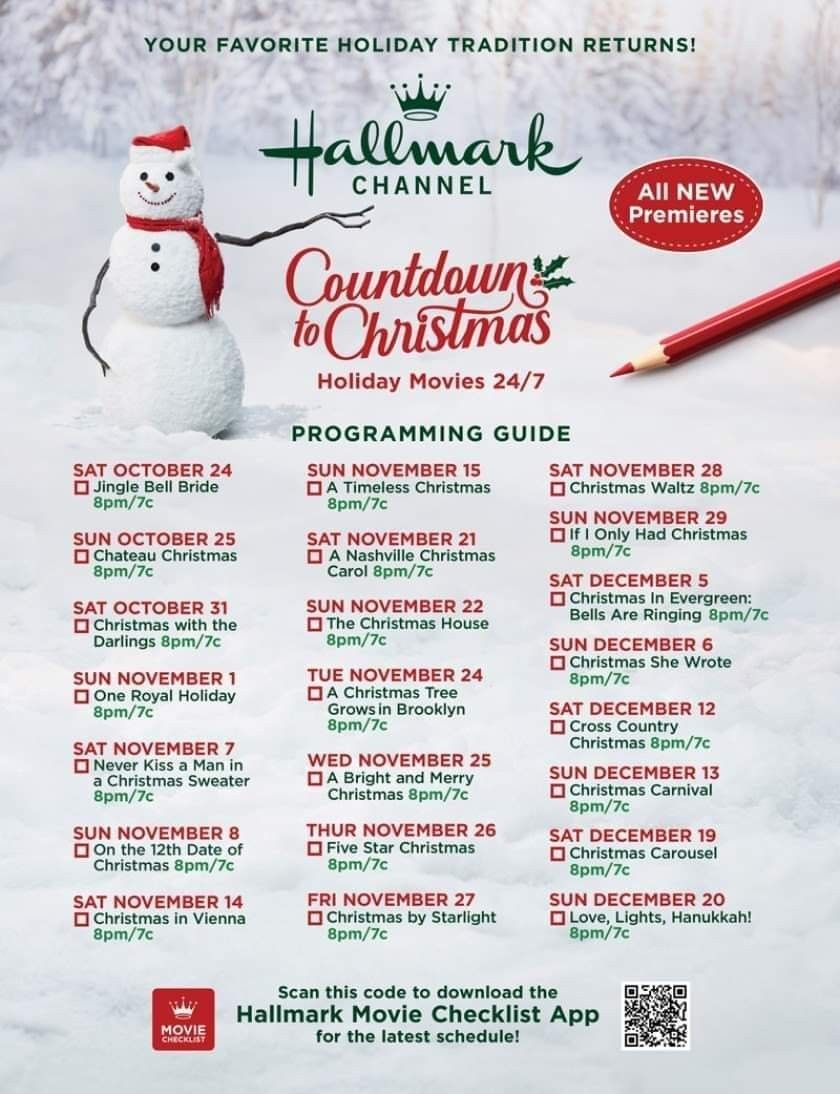 Pin By Phyllis Preston On Hallmark Channels In 2020 Hallmark Christmas Movies Christmas Countdown Hallmark Christmas