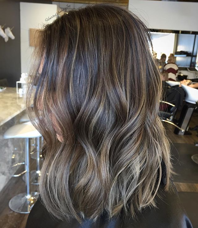 Amber Joy Rogan On Instagram Sandy Beige Undone Waves Hair Styles Hair Waves Brown Hair Balayage