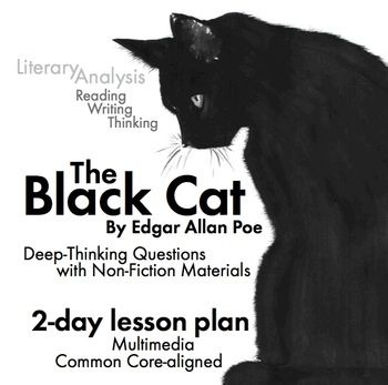 essays on the black cat by poe The black cat, by edgar allan poe the black cat, a short story by edgar allan poe, is about a man who is in jail confessing to murdering his wife he starts of by stating that he was happily married to a nice beautiful woman, and the couple had many animals among those animals was a black cat named pluto and this cat is the narrator's.