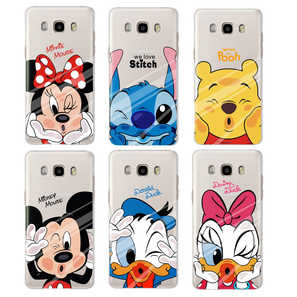 Samsung Galaxy S3 Barato Libre For Fundas Samsung Galaxy J5 Case Lovely Minnie Soft Silicone Case