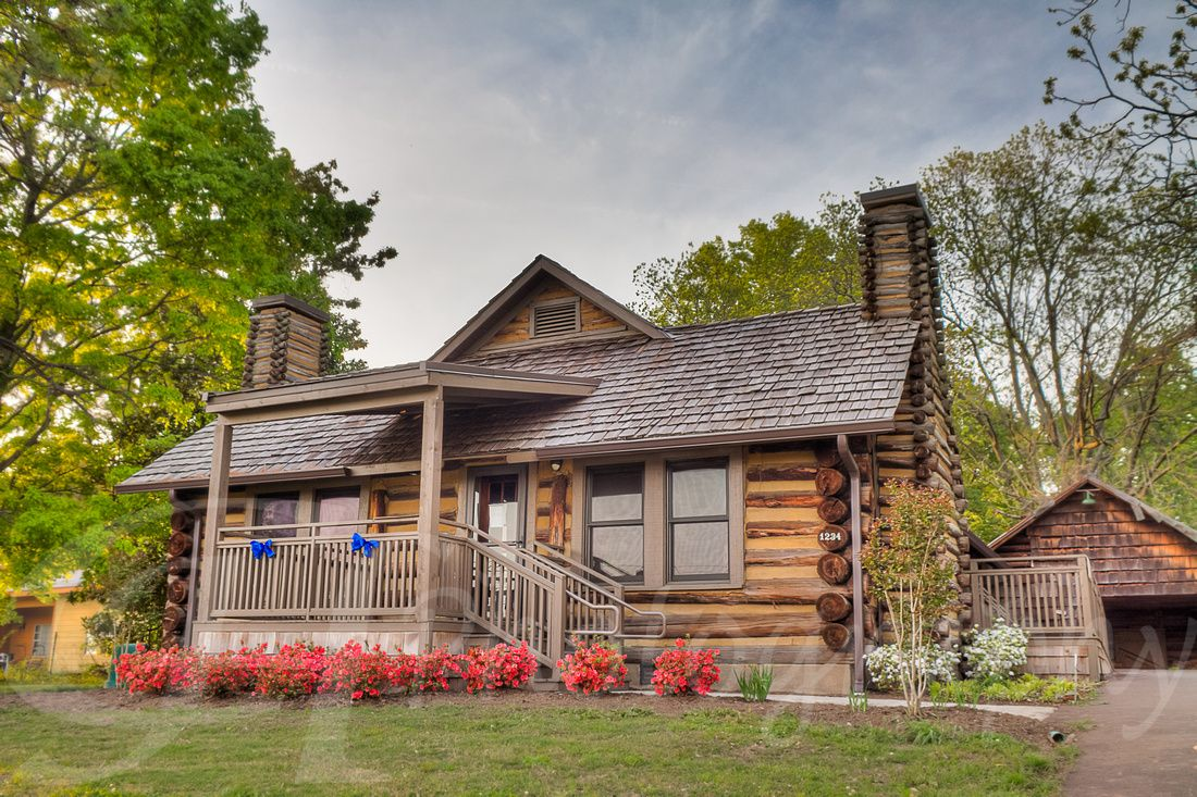 The Old Cabin In Munford Tn Office Of The South Tipton County Chamber Of Commerce Old Cabins House Styles Cabin