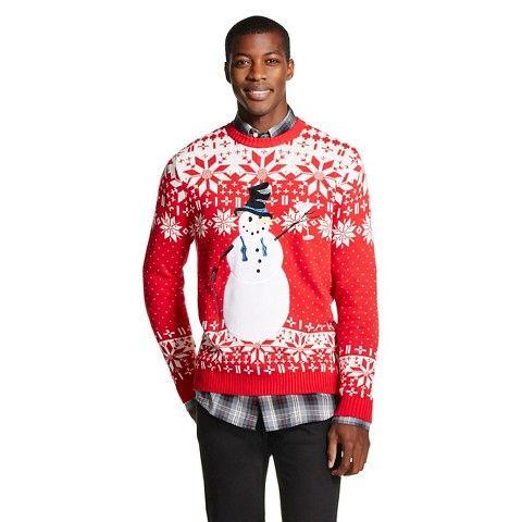Mens Christmas Sweater Geeky Christmas Sweaters Ugliest Christmas