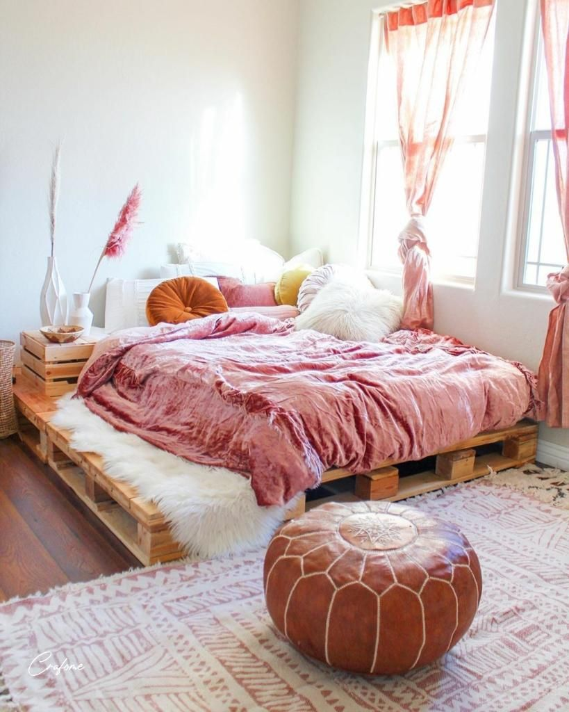50 Adorable Pallet Bed Ideas You Will Love In 2020 Decor Home