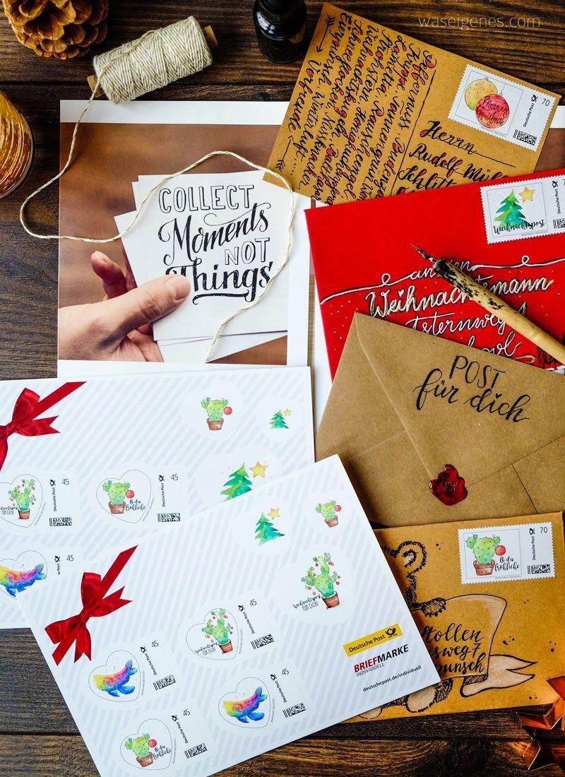 weihnachtspost basteln mit papier paper crafts. Black Bedroom Furniture Sets. Home Design Ideas