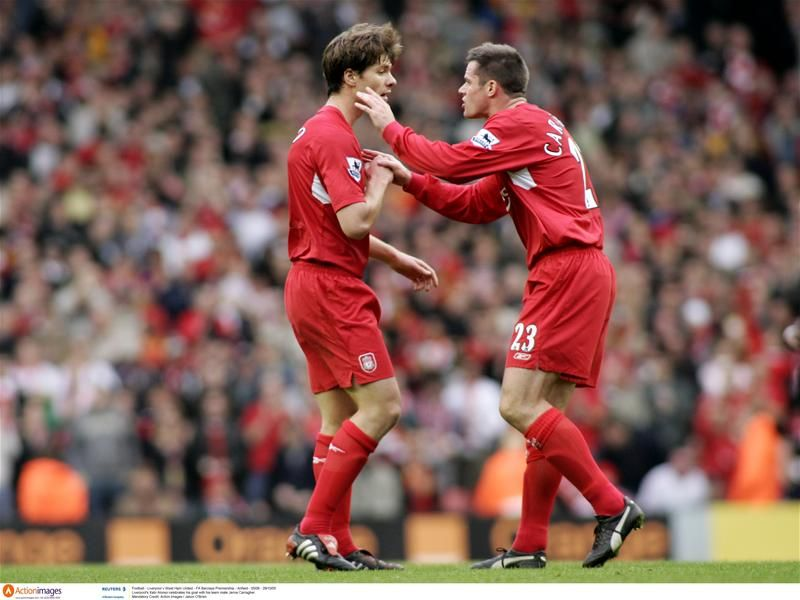 Bayern Munich S Xabi Alonso Claims Jamie Carragher Would Get A