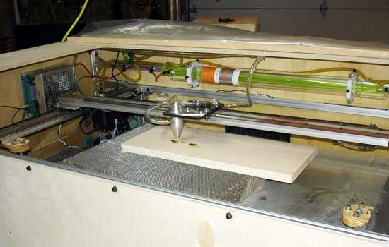 Cómo Hacer Una Cortadora Laser Casera Bricogeek Com Cortadora Laser Casera Diy Cnc Taller En Casa