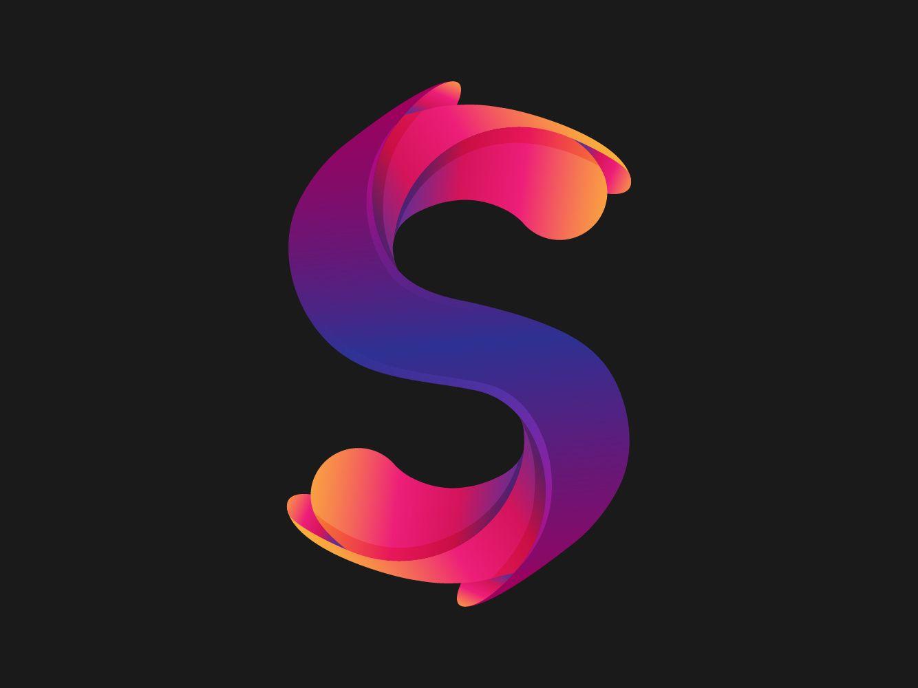 Letter S Logo Lettering Lettering Design Alphabet Wallpaper