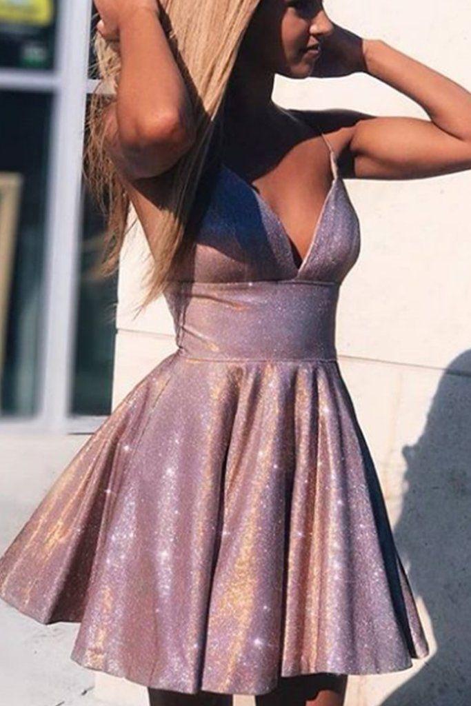 SR1010,Purple Sequins Homecoming Dresses,Spaghetti Straps Short Prom Dresses,School Event Dresses,Juniors Dresses,Short Graduation Dresses