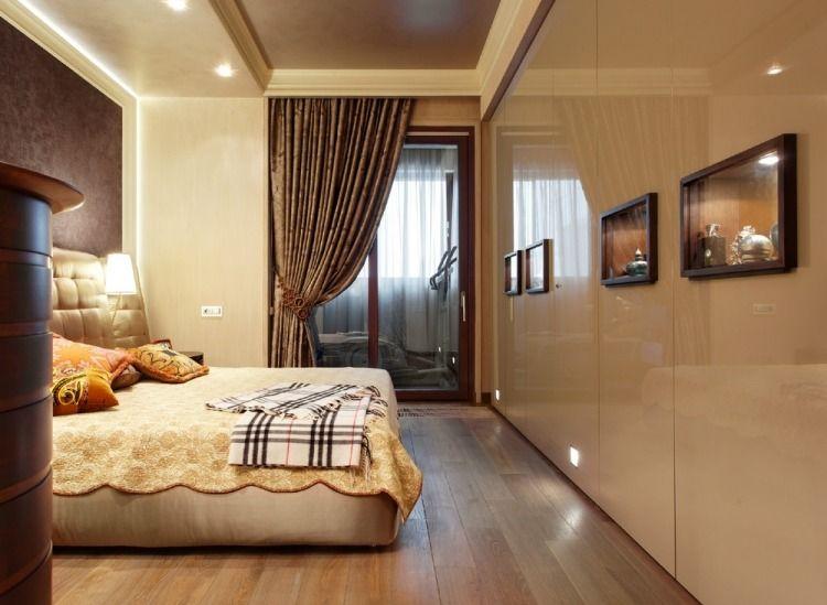 Creme, Beige Und Schokobraun Im Schlafzimmer Kombinieren