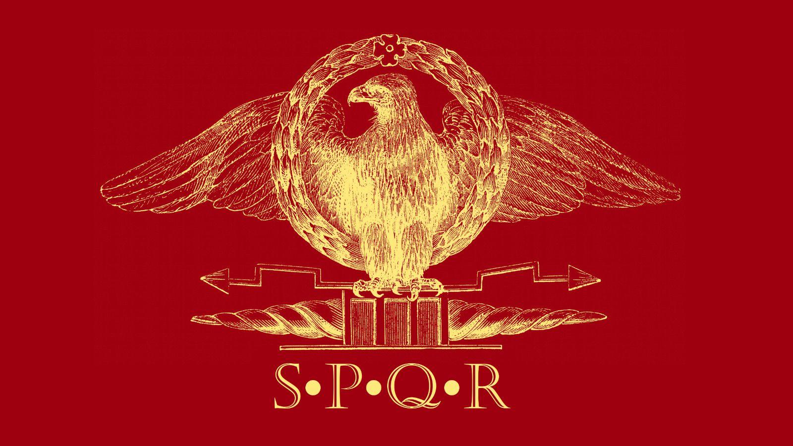 Roman Empire Senate And People Of Rome Flag Free Shipping 3x5ft 90x150cm Ebay Roman Empire Empire Logo Empire