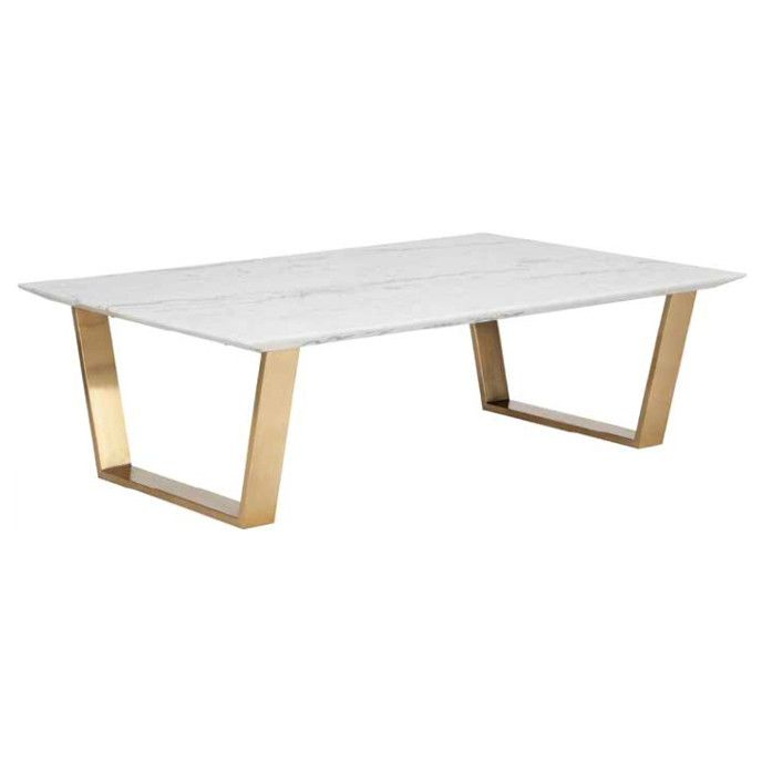 Lovely Marble Cartier Coffee Table