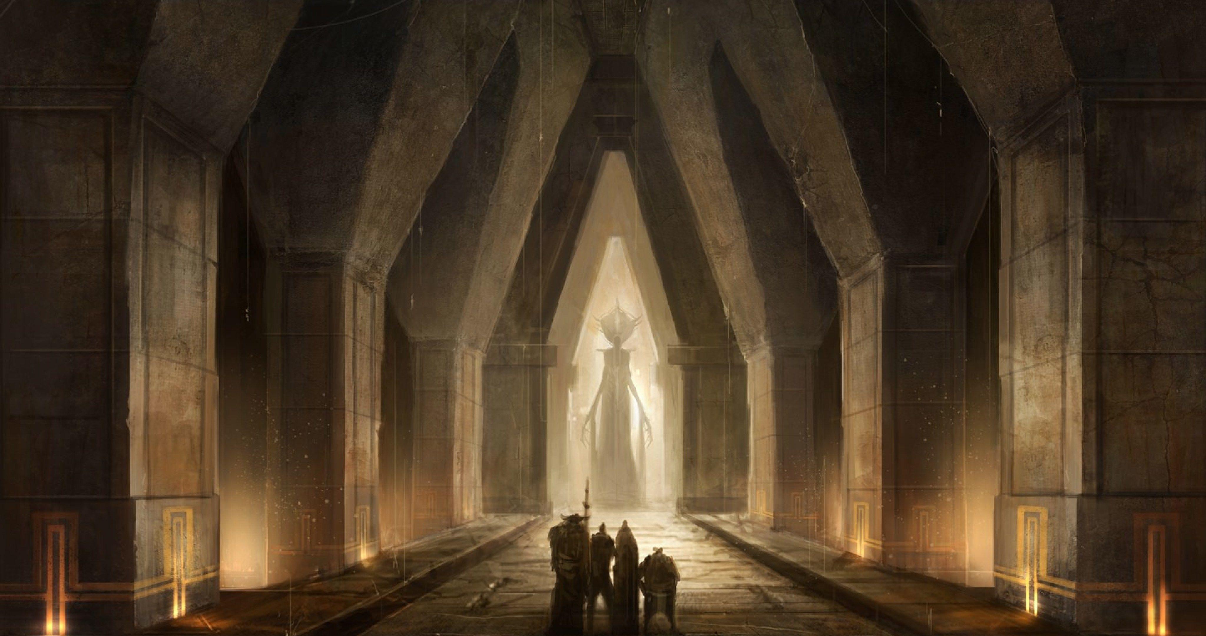 Dragon Age Video Game 4k Ultra Hd Wallpaper Dwarven City Dragon Age Dragon Age Games