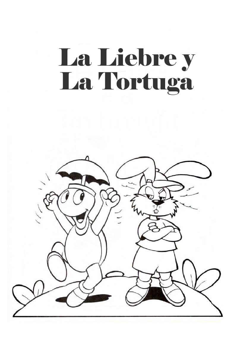 La Liebre Y La Tortuga Tortugas Dibujos Tortugas Pintadas