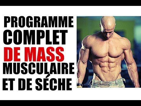 Programme Gratuit De Musculation Prise De Masse Et Sèche Basique Programme Musculation Homme Programme Musculation Exercices De Musculation Pour Hommes
