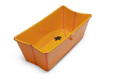 Vasca Da Bagno Stokke : Stokke flexi bath orange orange mainview pregnancy